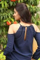 Poojita Super Cute Smile in Blue Top black Trousers at Darsakudu press meet ~ Celebrities Galleries 091.JPG