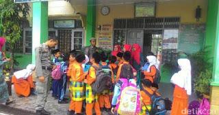 Satpol PP Ikut Amankan Sekolah Antisipasi Penculikan Anak