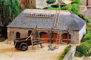 Bâtiment de la crèche de Noël de Lampaul-Guimiliau