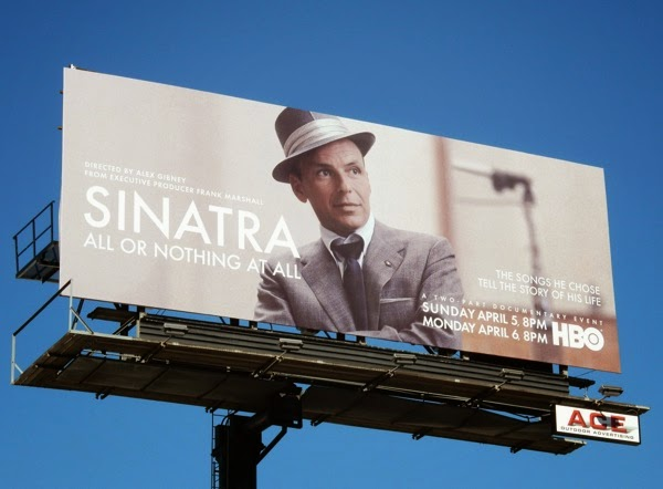 Sinatra All or Nothing at All HBO documentary billboard