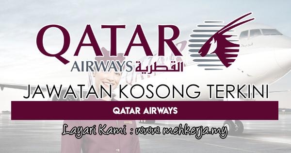 Jawatan Kosong Terkini 2018 di Qatar Airways