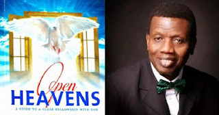 Open Heavens 16 July 2017: Sunday daily devotional by Pastor E. A. Adeboye- Legs on Vacation?
