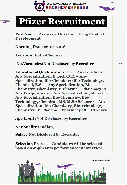 Pfizer recruitment Apply online - VACANCY EXPRESS