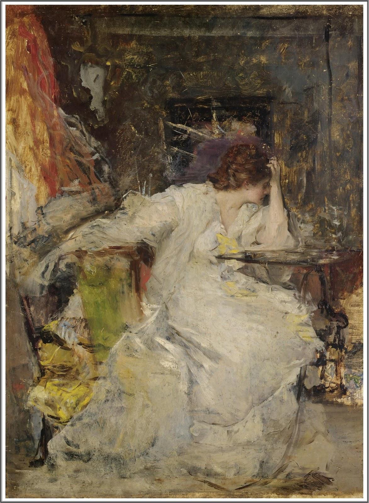 vicente palmaroli gonzlez 1834 1896 femme dans un intrieur