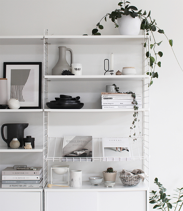 t d c a new magazine shelf for the string. Black Bedroom Furniture Sets. Home Design Ideas