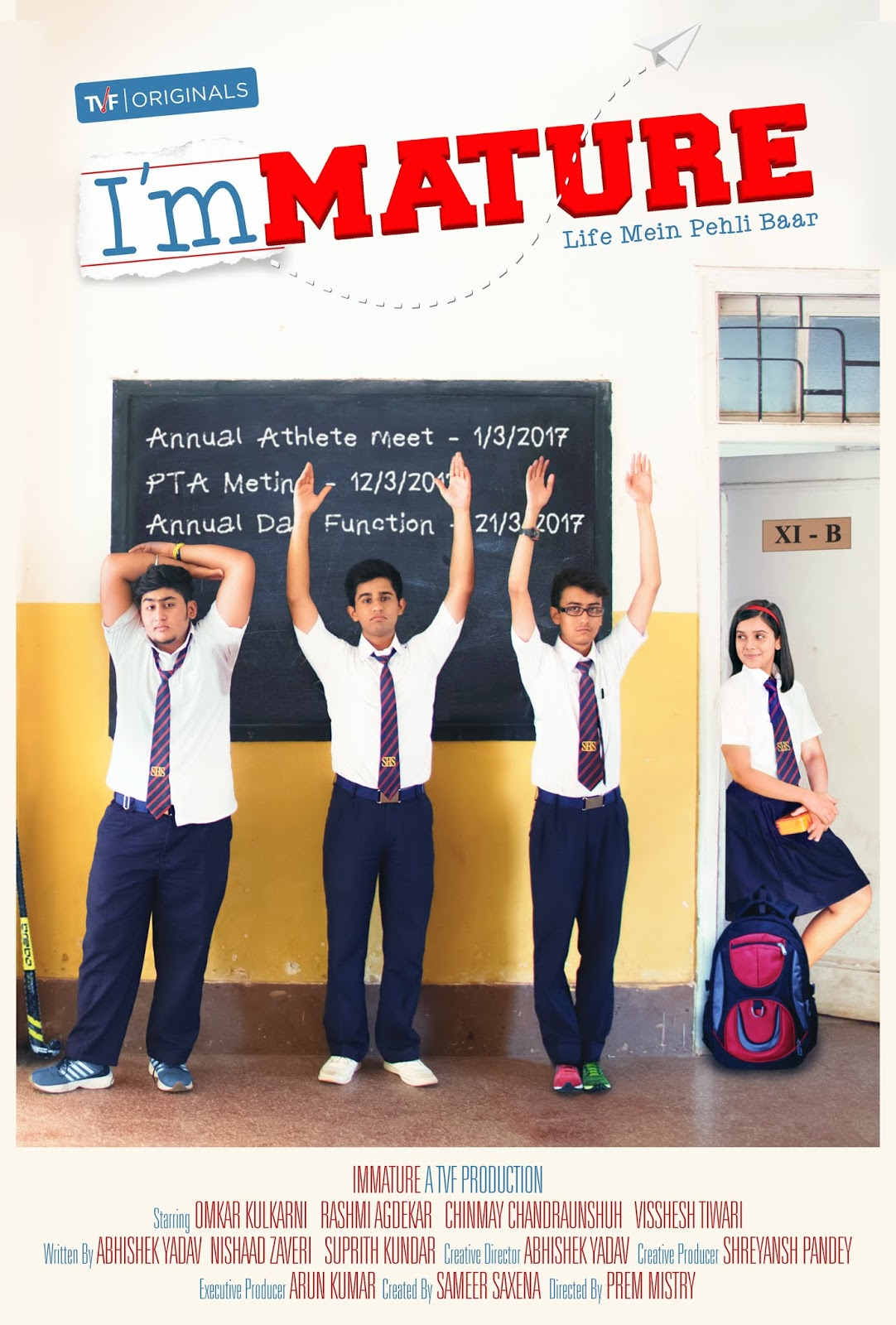 ImMature 2019 Hindi Complete WEB Series 720p HEVC x265