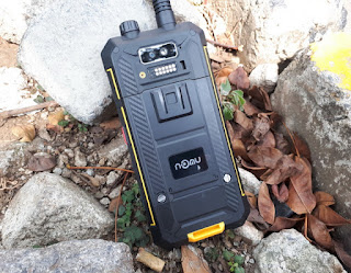 Hape Plus HT Nomu T18 Dual Band Walkie Talkie UHF Plus VHF Android 4G LTE IP68 Certified