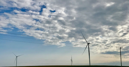 Wind Farm Close-Up