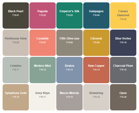 Behr Paint Trends for 2016