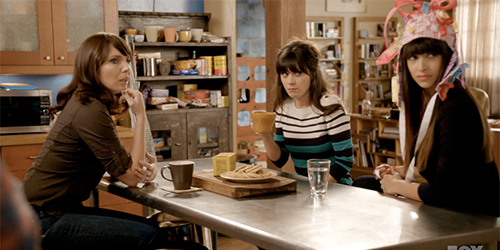 Image New Girl kitchen