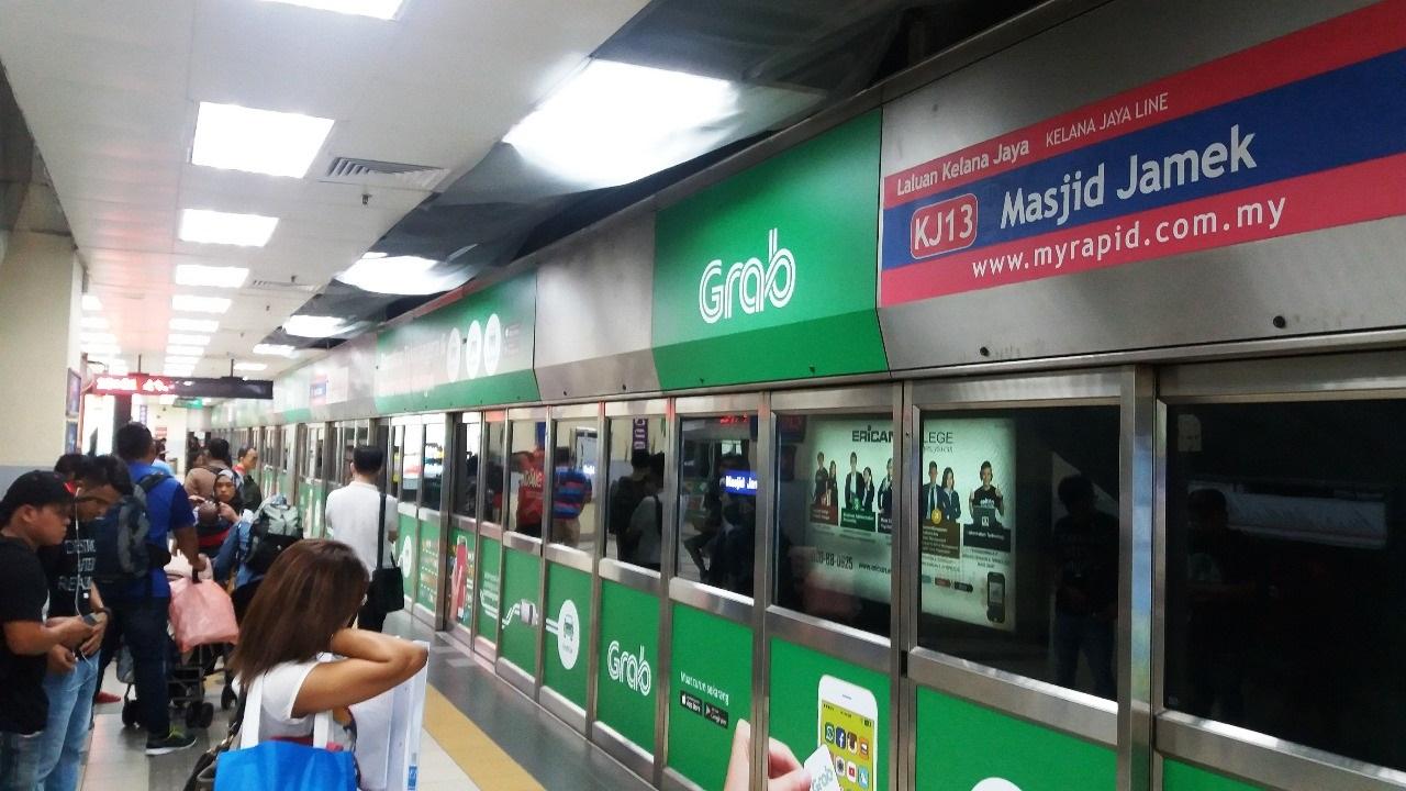 estação trem Kuala Lumpur Malásia