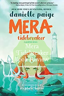 book reviews, comic, dc, dc ink, fantasy, graphic novel, mera, superhero, ya, mermaid books,