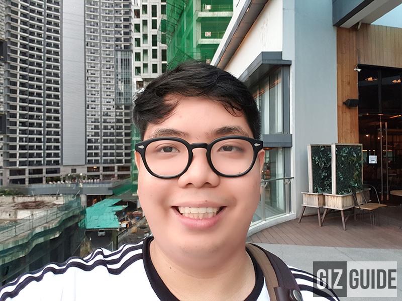 Selfie face beauty
