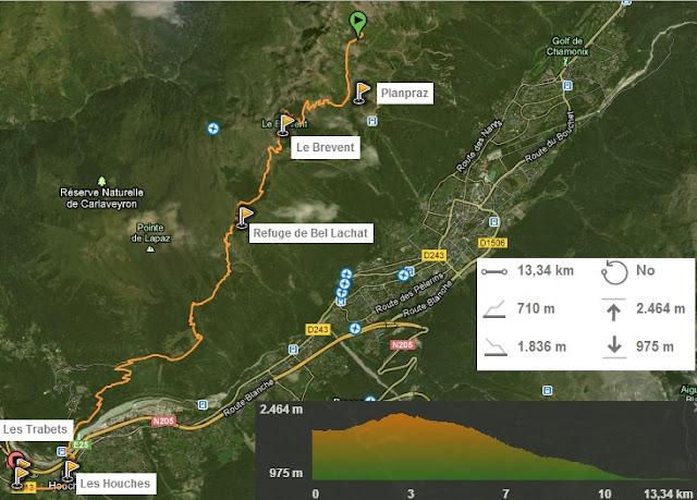 Etapa 8 Tour del Mont Blanc