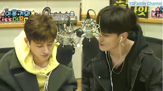 iKON (B.I + Donghyuk) at Hongki Kiss The Radio Special DJ 180220) Guest:Kisum