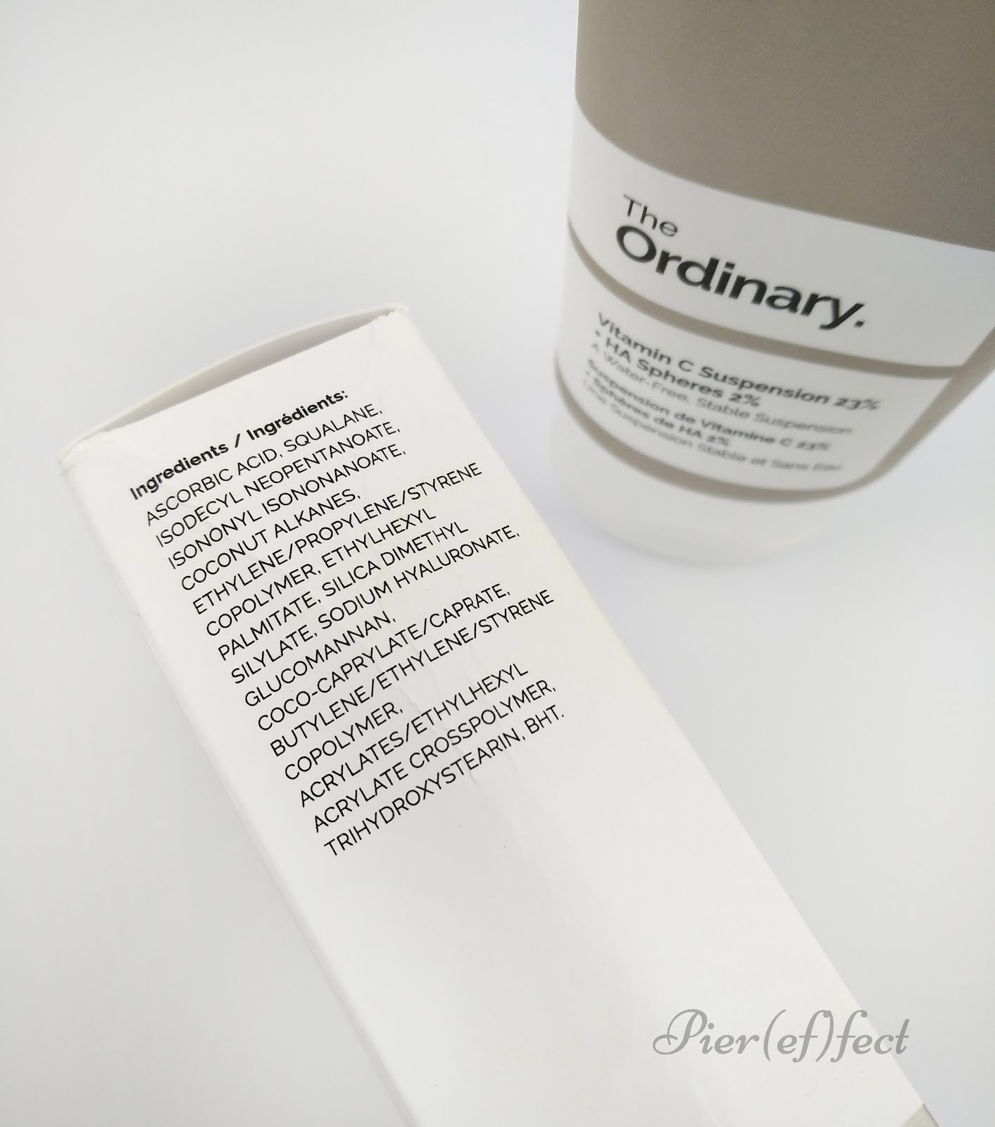 Vitamin C Suspension 23% + HA Spheres 2% the ordinary