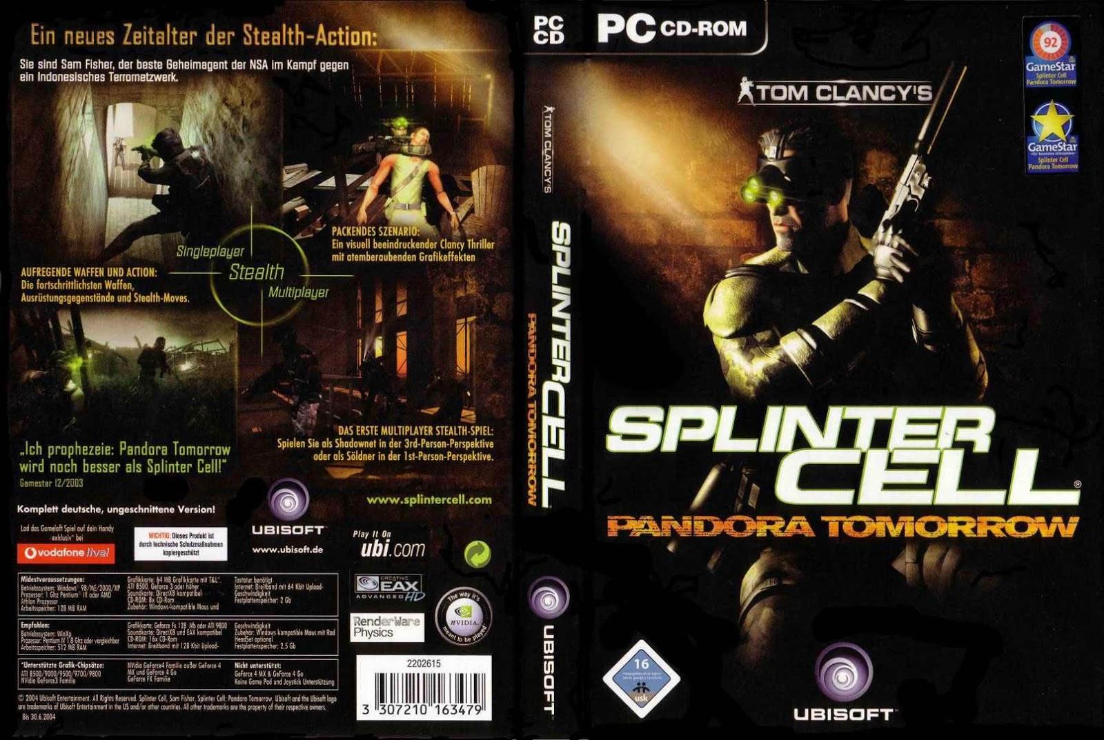 Gamesfx: download splinter cell pandora tomorrow full rip pc game.