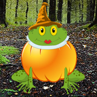 Games2rule Halloween Pumpkin Frog Escape