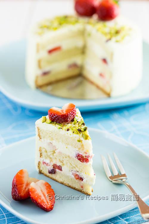 士多啤梨鮮忌廉蛋糕 Strawberry Cream Cake02
