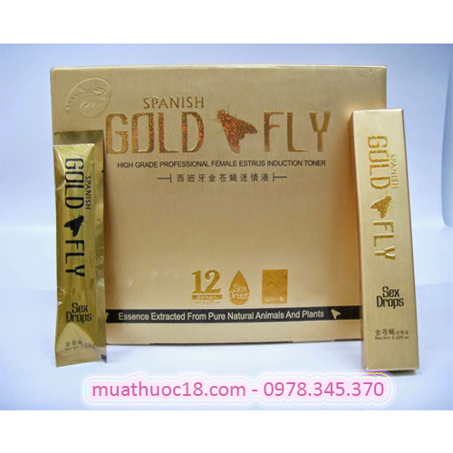 gold fly spanish