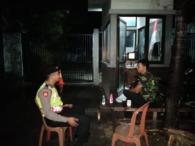 Beri Rasa Aman Masyarakat, Personel Ditsamapta Polda Banten Patroli Rutin