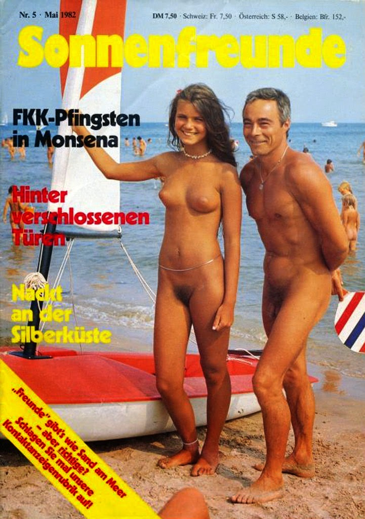 Family nudist magazines share