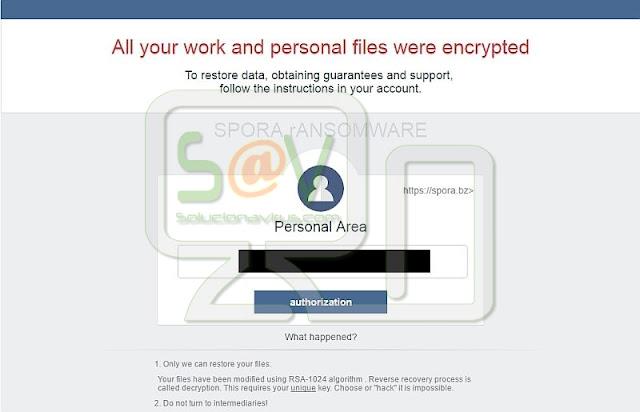 Spora (Ransomware)