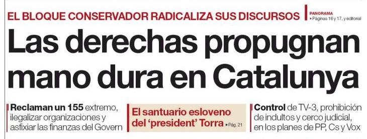 contra cataluña