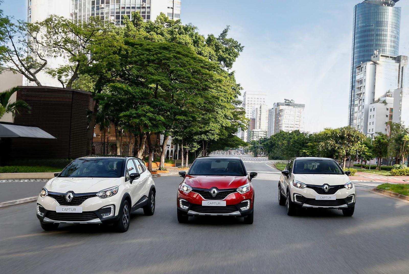 Ficha Tecnica y Equipamiento de la Renault Captur Zen e Itense 2017