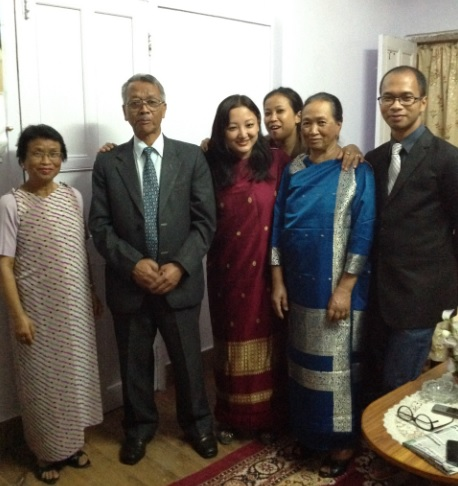 Shillong Uncle's family