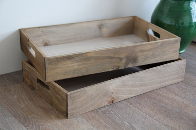 DIY: Wooden Tray Makeover