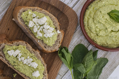 Dips are a great food for picnics