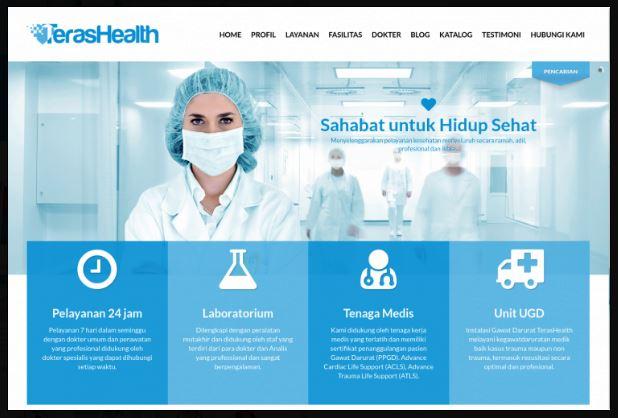 Download CMS Rumah Sakit - Lupacode