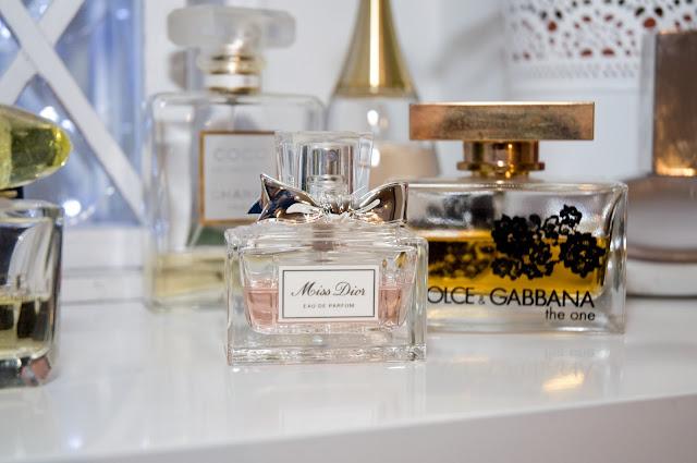 Perfumy Miss zapach, wygląd butelki perfum
