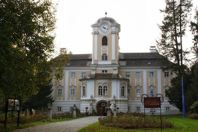 Waldviertel - Fürstlich übernachten im Schlosshotel Rosenau im Waldviertel © Copyright Monika Fuchs, TravelWorldOnline