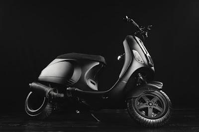 Vespa LX Custom Zoomer Style