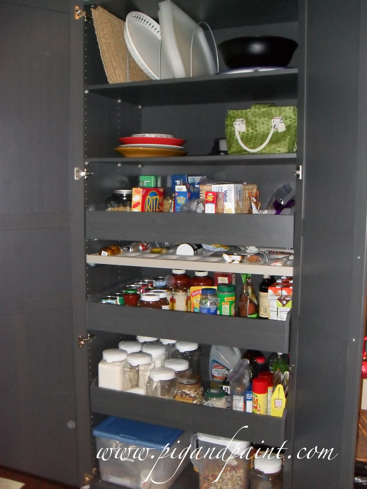 Pig and Paint: Why a Stand-Alone Pantry is a Great Alternative