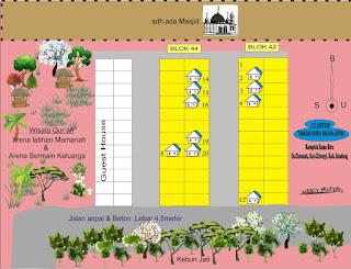 Perumahan dengan konsep rumah syariah di bandung
