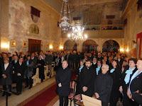 hvarski biskup Petar Palić Smotra župnih zborova Dol slike otok Brač Online
