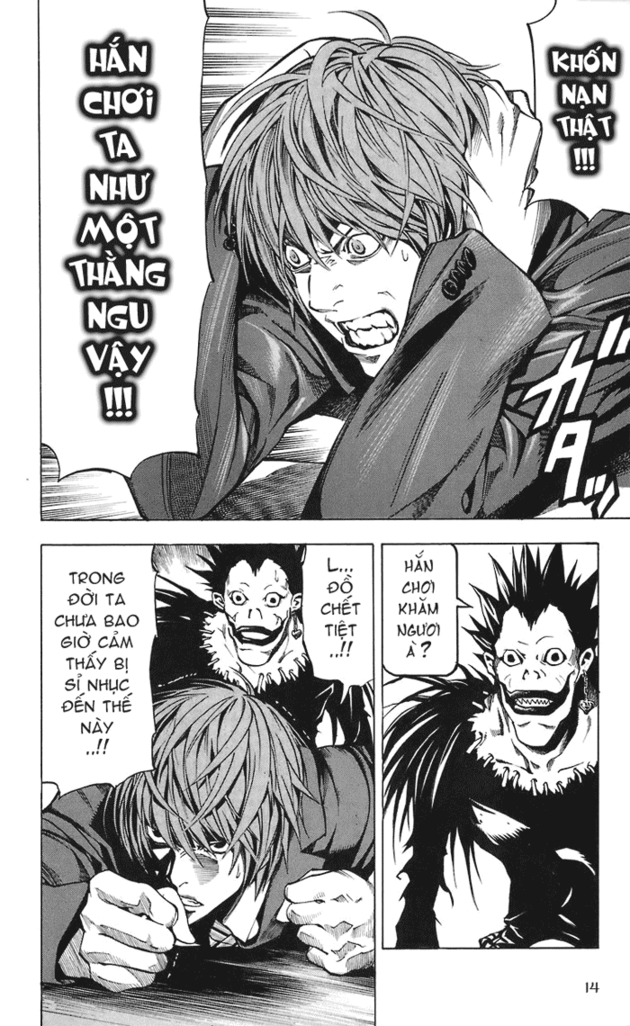 Death Note chapter 019 trang 15