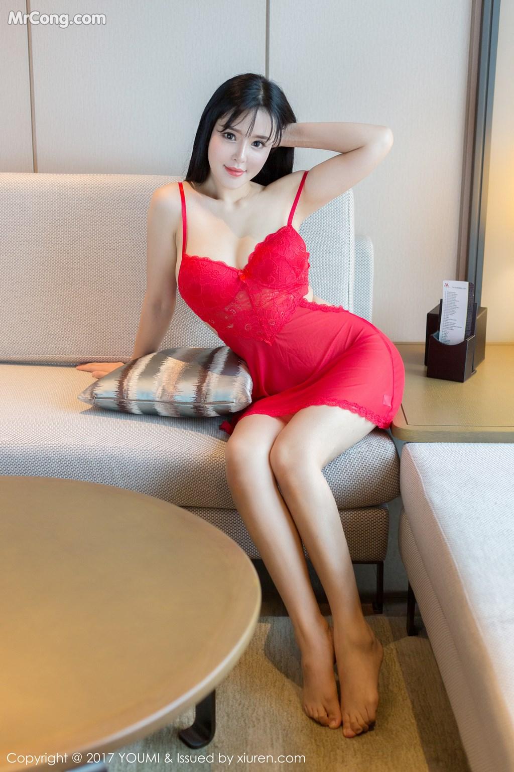 Image YouMi-Vol.064-Liu-Yu-Er-MrCong.com-005 in post YouMi Vol.064: Người mẫu Liu Yu Er (刘钰儿) (46 ảnh)