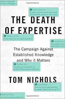 Tom Nichols The Death of Expertise