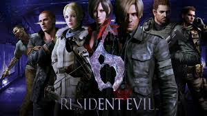 chris redfield partner resident evil 6