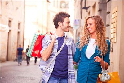 بعد ذهاب الزوجة أو الزوج للتسوق :