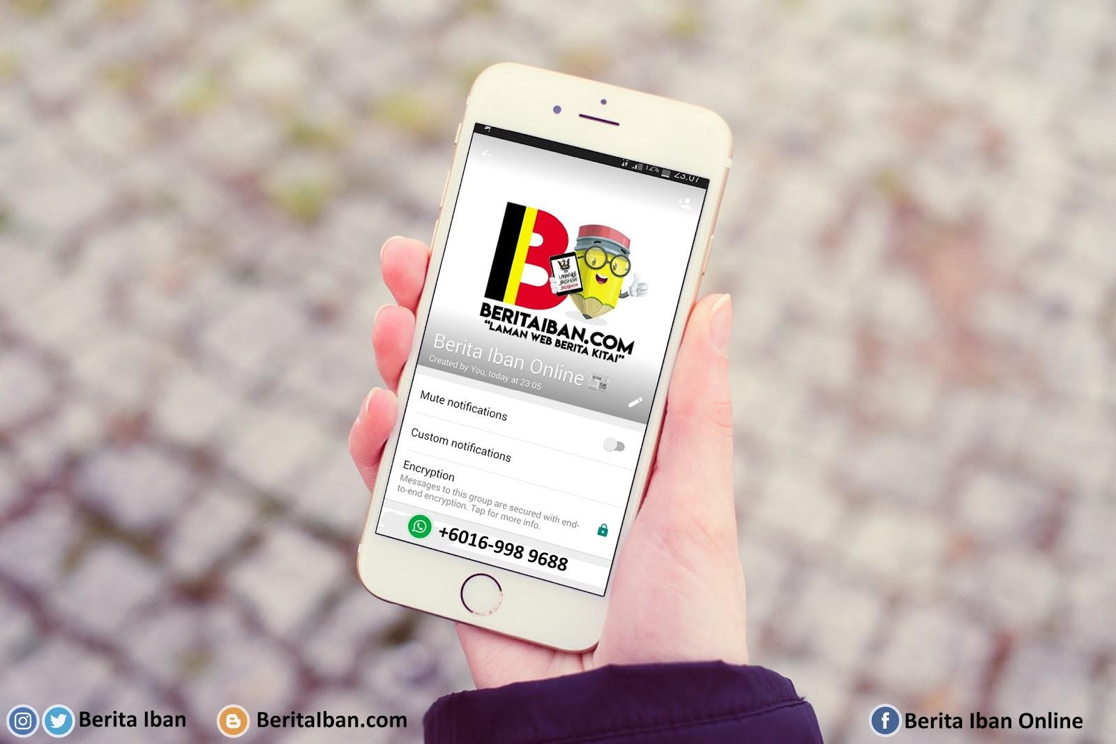 Berita Iban Online WhatsApp