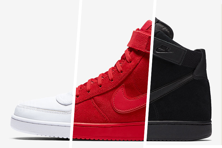 07b1c53e5 ... Nikes resurgence of the vintage Vandal High silhouette has been  highlighted by some eye-catching  The Nike ...