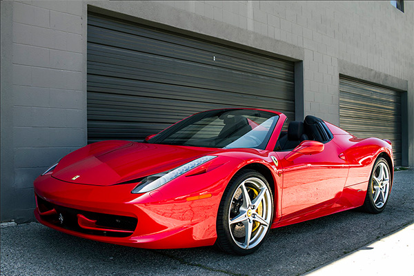 chicago legendary ferrari highway luxury in car angeles a route from and rent to rental drive los