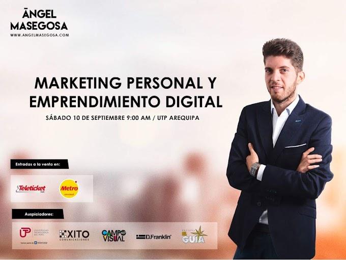 Conferencia internacional Marketing Personal y Emprendimiento Digital - 10 de setiembre