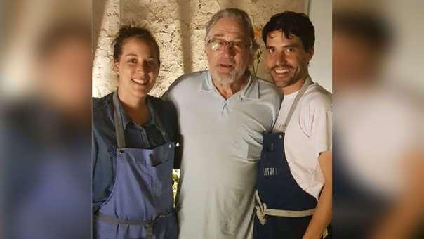 Robert de Niro visitó restaurante de Virgilio Martínez en Perú.