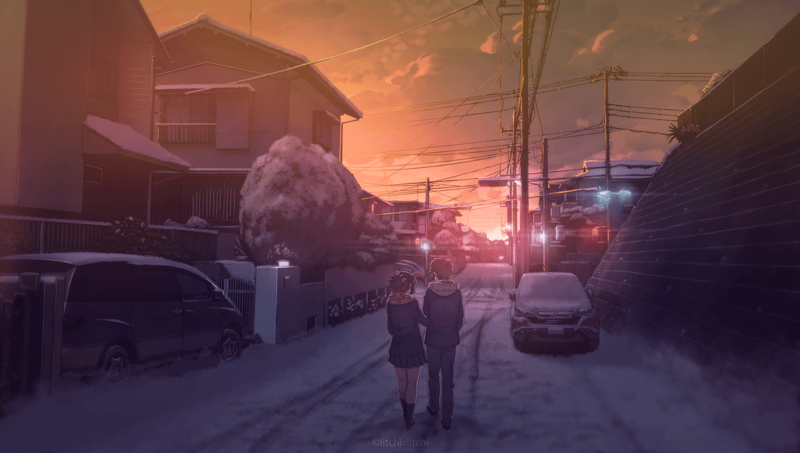 AowVN%2B%252814%2529 - [ Hình Nền ] Anime Your Name. - Kimi no Nawa full HD cực đẹp | Anime Wallpaper